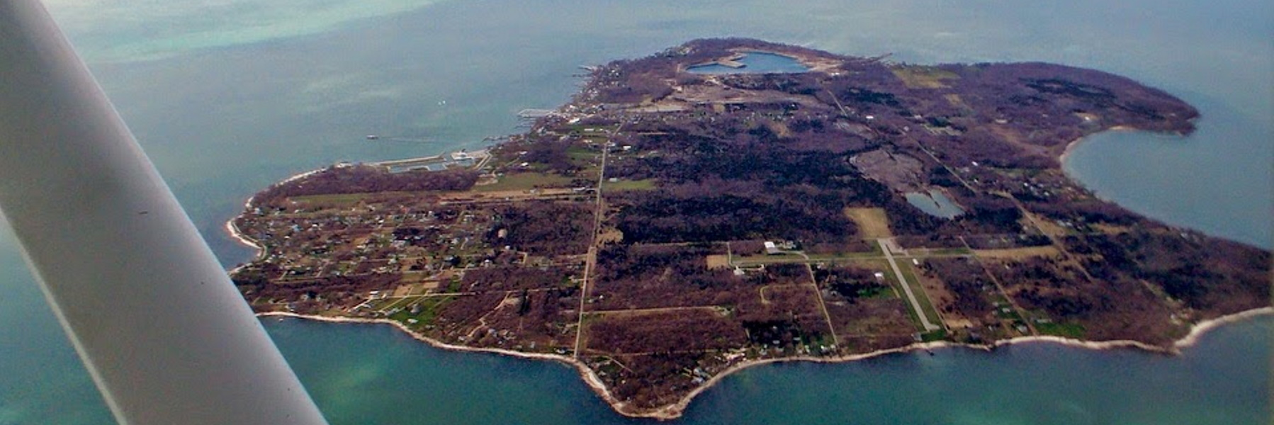 Kelleys Island aerial photo